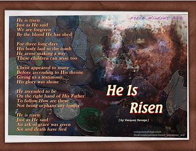 Photograph - He Is Risen by Kathleen Luther