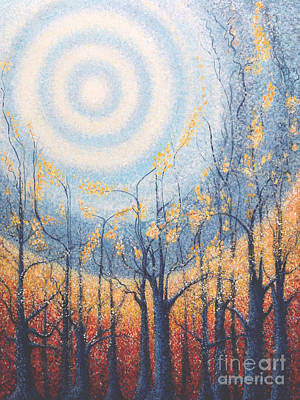 Painting - He Lights The Way In The Darkness by Holly Carmichael