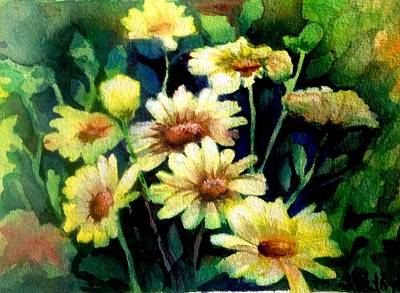 Painting - He Loves Me.... by J Worthington Watercolors