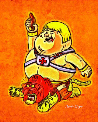 Animation Digital Art - He-man - Da by Leonardo Digenio