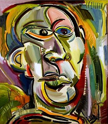 Painting - He Resembled Picasso by Lord Toph