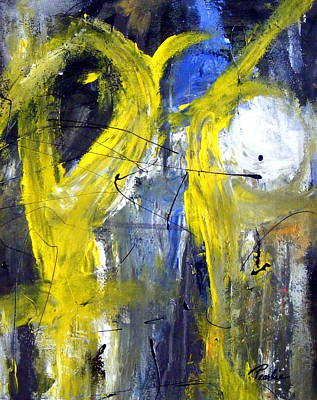 Painting - He Said She Said by Pearlie Taylor
