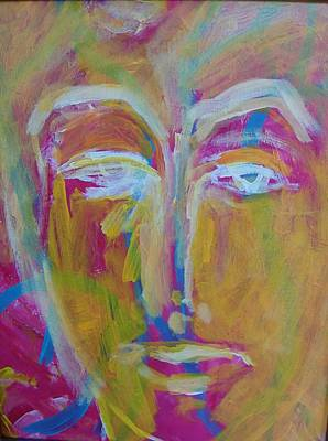 Observer Painting - He The Man by Judith Redman