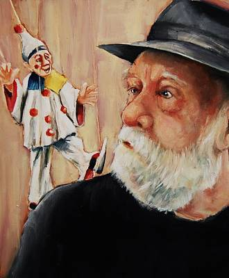 Painting - He Was Always Looking Over His Shoulder by Jean Cormier