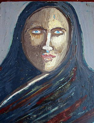 Painting - Head-5 by Anand Swaroop Manchiraju