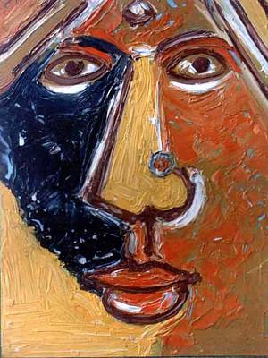 Painting - Head 8 by Anand Swaroop Manchiraju