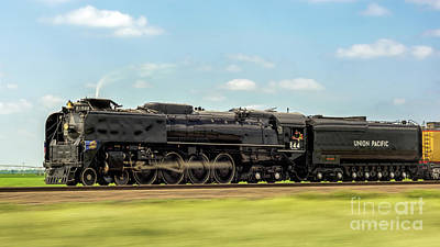 Union Pacific 844 Photograph - Head Full Of Steam by Nathan Gingles
