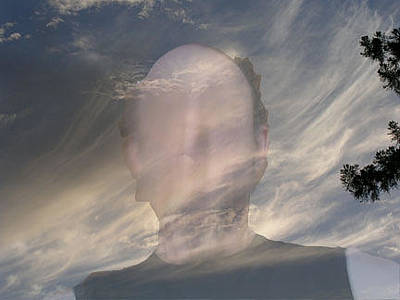 Brad Wilson Photograph - Head In Clouds by Brad Wilson