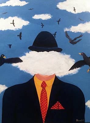 Painting - Head In The Cloud by Thomas Blood