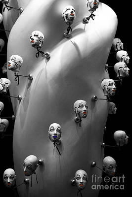 Head Job Art Print by Tim Hightower