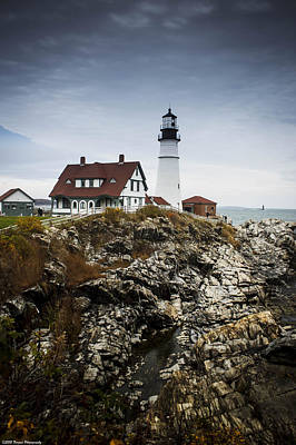 Photograph - Head Light Lighthouse Portland Maine by Debra Forand