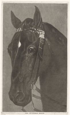 New Years Royalty Free Images - Head of a horse with a bridle, James Newman Hodges, after Guy Head, 1796 - 1821 Royalty-Free Image by James Newman Hodges