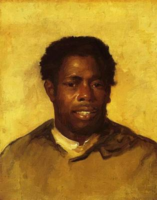 Painting - Head Of A Negro 1778 by Copley John Singleton