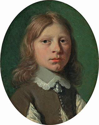 Painting - Head Of A Young Boy by Attributed to Jan de Bray
