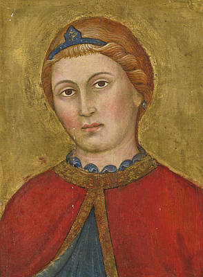 Painting - Head Of An Angel by Taddeo di Bartolo