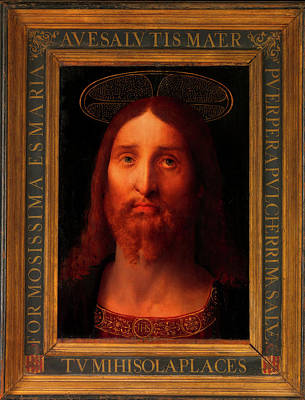 Painting - Head Of Christ                                   by Fernando De La Almedina