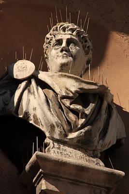 Head Of Nero In Venice Art Print by Michael Henderson
