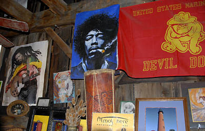 Jimmy Hendrix Painting - Head Shop by David Lee Thompson