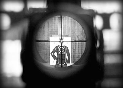 Sniper Photograph - Head Shot by Todd Klassy