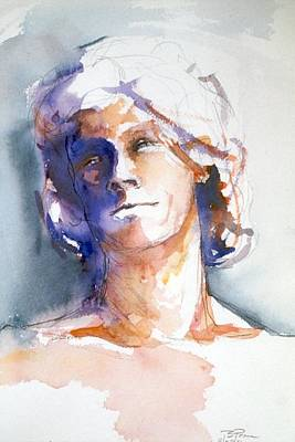 Painting - Head Study 1 by Barbara Pease