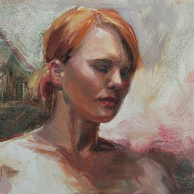 Painting - Head Study by Emily Olson