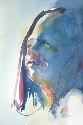 Painting - Head Study8 by Barbara Pease