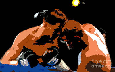 Boxing Gloves Painting - Head To Head by David Lee Thompson