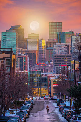 Denver Skyline Photograph - Headed For The Weekend by Darren White