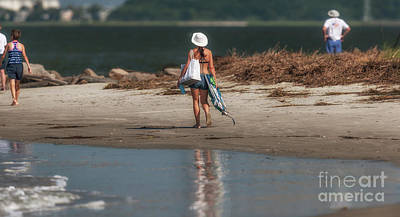 Photograph - Headed To The Beach by Dale Powell