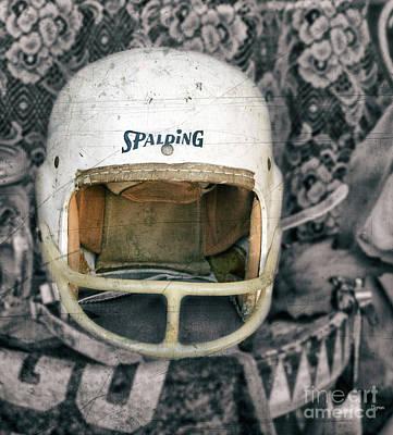 Sports Photograph - Headgear  by Steven Digman