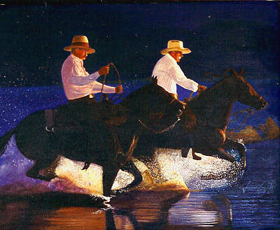 Painting - Headin Home by JoeRay Kelley