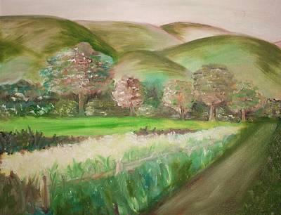Painting - Headin by Julie Lueders