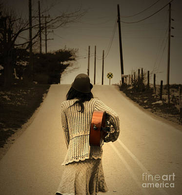 Cellist Photograph - Heading Anywhere But Here  by Steven Digman