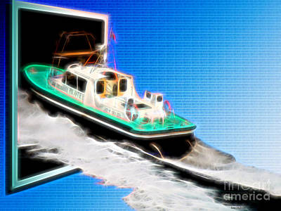 Digital Art - Heading Back To Sea by Sue Melvin