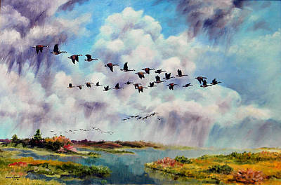 Painting - Heading East by David  Maynard