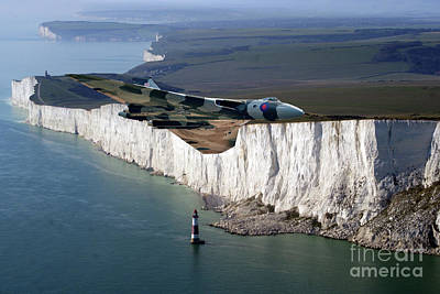 Vintage Uk Posters - Heading For Eastbourne by Airpower Art
