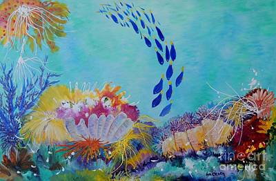 Painting - Heading For The Coral by Lyn Olsen
