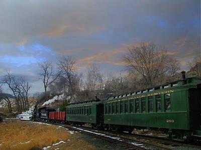 Colorado Railroad Museum Photograph - Heading Home by Ken Smith