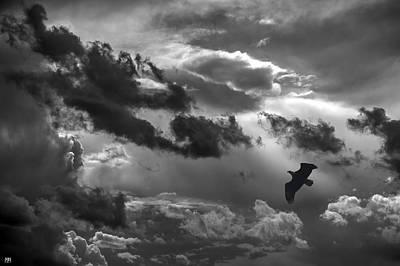 Photograph - Heading Into Turbulence by John Meader