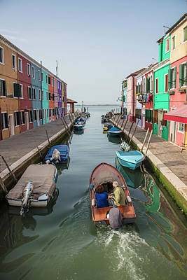 Photograph - Heading Out Of Burano by John McGraw
