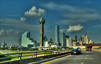 Photograph - Heading To Downtown Dallas by Dyle   Warren