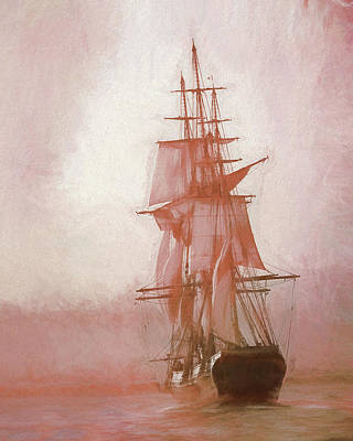 Heading To Salem From The Sea Art Print