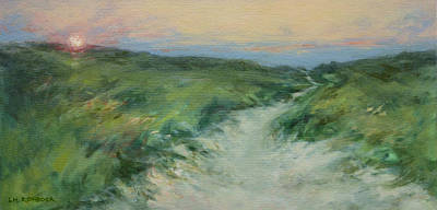 Cape Cod Painting - Heading Towards The Sunset by Lisa H Ridabock