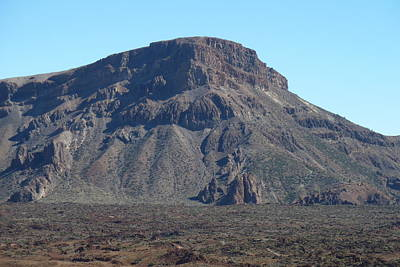 Photograph - Heading Up Mount Teide by George Leask