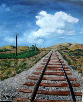 Painting - Heading In The Right Direction by Laurie Morgan