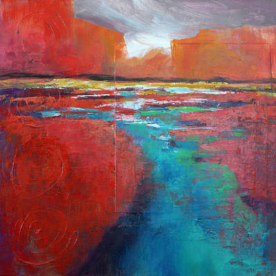 Painting - Heading West No.2 by Melody Cleary
