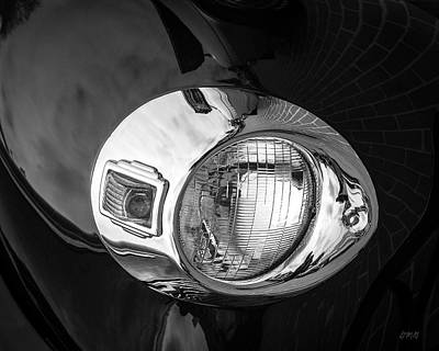 Photograph - Headlamp IIi Bw by David Gordon