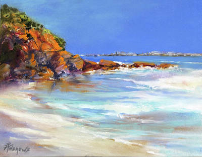 Painting - Headland At Lowtide.. by Rae Andrews