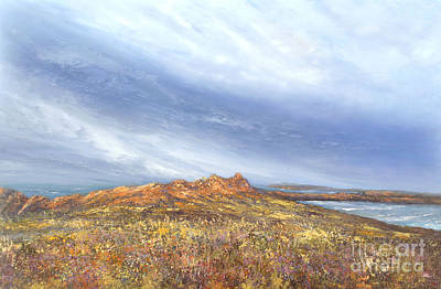 Painting - Headland  by Valerie Travers