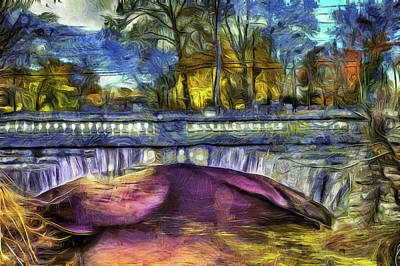 Photograph - Headless Horseman Bridge Art by David Pyatt
